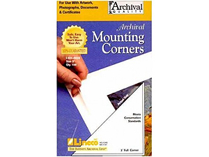 Lineco Poly Mounting Corners 1-1/4 inch Full (250)