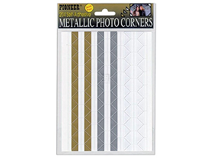 Pioneer Metallic Photo Corners