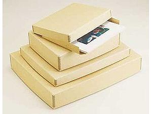 "Museum Storage Boxes - Tan (3"" Depth)"