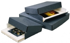 "Museum Storage Boxes - Gray (3"" Depth)"