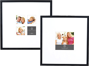 Prinz Gallery Expressions Wide Mat Picture Frames