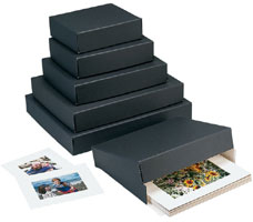 Museum Storage Boxes - Black (3