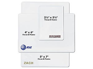 Custom Stamped Flexible Magnetic Photo Pockets