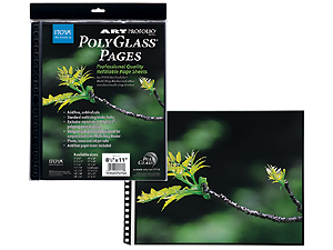 Itoya Polyglass Multi-Ring Pages (10)