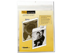 Lineco 8-1/2x11 Photo / Art Bags (10 Pack)