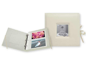Pioneer PBX-120W 3-Ring Wedding Photo Album Box