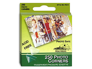 Pioneer Clear Photo Corners