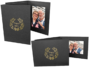 Happy 50th 4x6 Event Photo Folders (25 Pack)