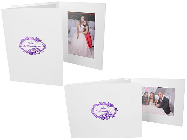 Mis Quinceanera Event 4x6 Horizontal Photo Folders (25 Pack)