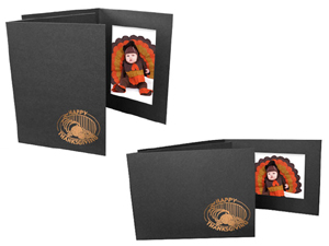 Happy Thanksgiving 4x6 Event Photo Folders (25 Pack)