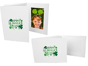 St. Patricks 4x6 Event Photo Folders (25 Pack)