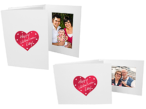 Valentine's Day 4x6 Event Photo Folders (25 Pack)