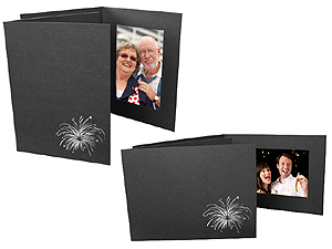 Fireworks 4x6 Event Photo Folders (25 Pack)