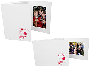 Casino 4x6 Event Photo Folders (25 Pack)