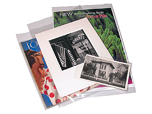 Print File 11x17 Polyethylene Bags (100 Pack)