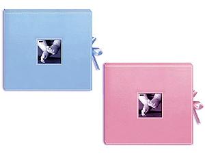 Pioneer SBX-12B 3-Ring 12x12 Baby Scrapbook Box