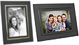 Cardboard Picture Frames 5x7 w/Foil Border (25 Pack)