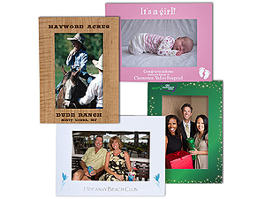 Custom Printed Full Color Easel Frames For 4x6 (Single Frames)