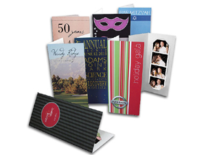Custom Photo Booth Folders - Deluxe