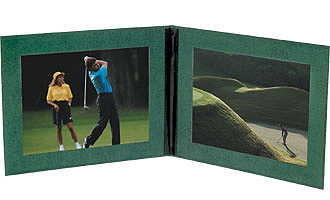 Sturdy Double-Sided 4x6 Photo Frames (25 Pack) - Green