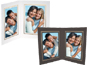 Double View Folder w/Foil Border 5x7 Vertical (25 Pack)