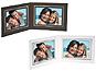 Double View Folder w/Foil Border 5x4 Horizontal (25 Pack)