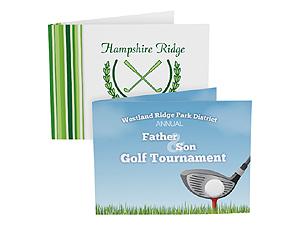 Custom Golf Photo Folders For Horizontal 4x6 (Sold in Singles)