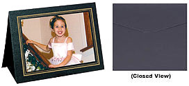 Grandeur Easel Frames 10x8 Horizontal w/Foil Border (25 Pack)