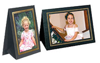 Grandeur Easel Frames with Foil Border (25 Pack)