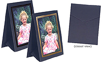 Grandeur Easel Frames 5x7 Vertical w/Foil Border (25 Pack)