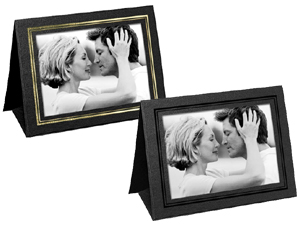 Grandeur Easel Frames 7x5 Horizontal w/Foil Border (25 Pack)