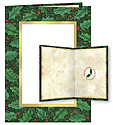 Holiday Photo Greeting Cards - Holly (10 Pack)