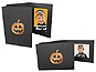 Halloween Pumpkin 4x6 Event Photo Folders (25 Pack)
