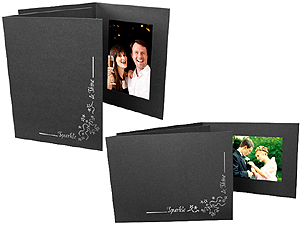 Sparkle and Shine Photo Folders For 4x6 (25 Pack)