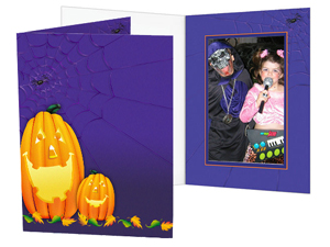 Halloween Pumpkins Photo Folders For 4x6 (25 Pack)