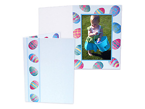 Easter Eggs 4x6 Event Photo Folders (25 Pack)