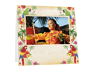 Luau Instax Paper Easel Frames (25 Pack)