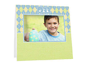 Easter Argyle Instax Easel Frames (25 Pack)