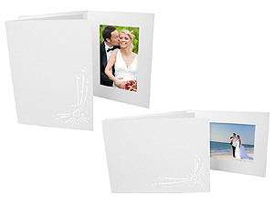 Opal Hearts Event Photo Folders For 4x6 (25 Pack)