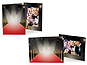 Red Carpet 4x6 Event Photo Folders (25 Pack)