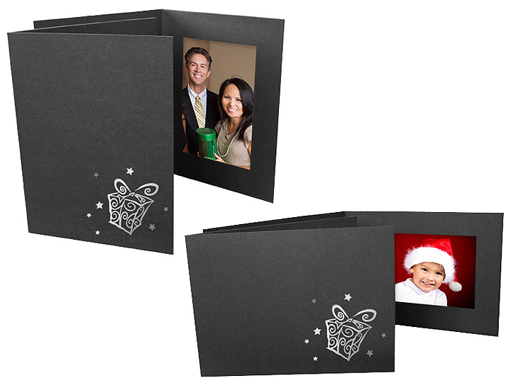 Gifts Holiday Photo Folders For 4x6 Horizontal (25 Pack)