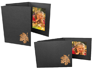 Fall Leaf Event Photo Folders For 4x6 (25 Pack)