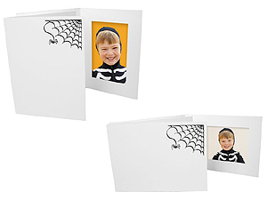 Halloween Spider Web Photo Folders For 4x6 (25 Pack)