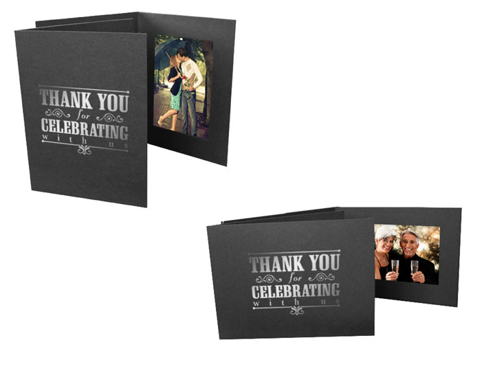 Thank You For Celebrating 4x6 Event Photo Folders (25 Pack)