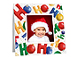 HoHoHo Christmas Polaroid Easel Frames (25 Pack)