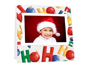 HoHoHo Instax Paper Easel Frames (25 Pack)