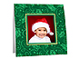 Green Holly Christmas Polaroid Easel Frames (25 Pack)