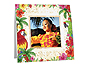 Hawaiian Luau Polaroid Easel Picture Frames (25 Pack)