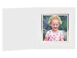Cardboard Photo Folders w/Foil Border Polaroid 600 (25 Pack)
