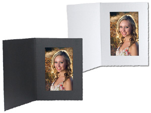 Cardboard Photo Folders 5x7 Vertical (25 Pack)